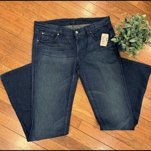 """7 For All Mankind Dark Wash """"A"""" Pocket Jeans"""